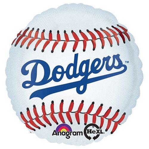 Anagram 18490 MLB Los Angeles Dodgers Baseball Team Foil Balloon, 18