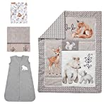Lambs-Ivy-Painted-Forest-4-Piece-Crib-Bedding-Set-Gray-Beige-White