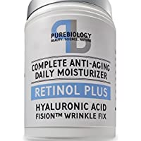 Retinol + Complete Anti-aging Facial Moisturizer Cream With Hyaluronic