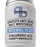 #3: Retinol + Complete Anti-Aging Facial Moisturizer Cream with Hyaluronic Acid & Breakthrough Anti Wrinkle Complex - For Face and Eye Area 1.7 FL OZ