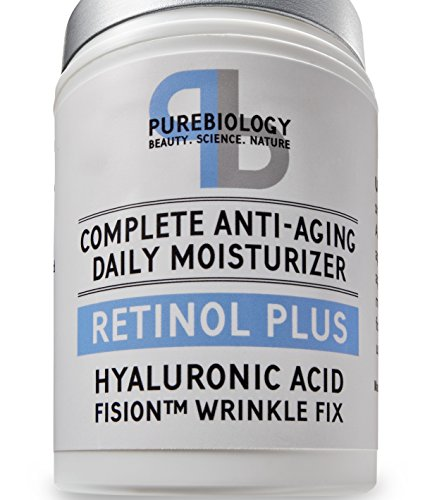Retinol + Complete Anti-Aging Facial Moisturizer Cream with Hyaluronic Acid & Breakthrough Anti Wrinkle Complex - For Face and Eye Area 1.7 FL OZ