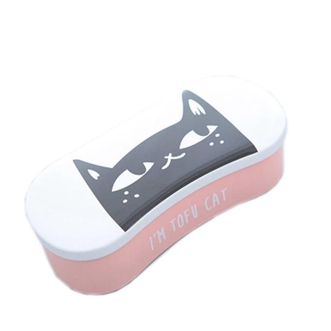 Amazon.com: Cute Cat Impresión carcasa rígida Tinplate ...