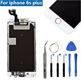 Full Screen Replacement LCD 3D Touch Assembly Front Camera Ear Speaker Home Button with Repair Tools for iPhone 6S Plus 5.5 inch (Rose Gold) Review