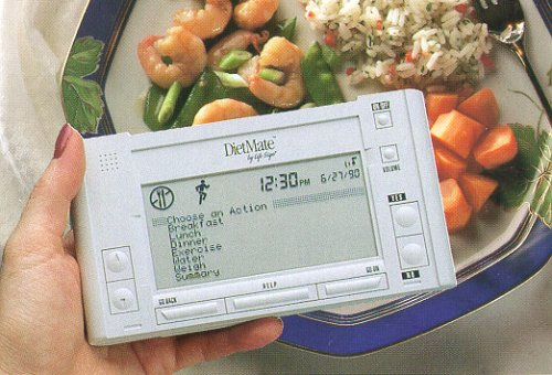 LifeSign DietMate Handheld Weight, Cholesterol, and Hypertension Control Computer