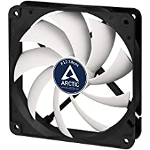 ARCTIC F12 Silent - Ultra-Quiet 120 mm Case Fan   Silent Cooler with Standard Case   almost inaudible   Push- or Pull Configuration possible