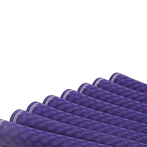 200 pcs - Majek Ladies Tour Pro Purple Undersize Golf Grips by Majek Grips (Image #3)