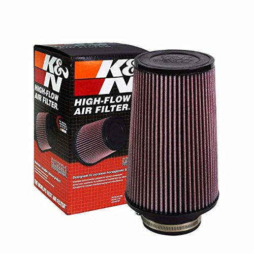 "K&N 3.50"" 89mm Universal Rubber Cotton Gauze Cone Round Tapered Air Filter RE-0920"