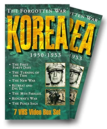 Korea: The Forgotten War VHS