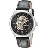 Lucien Piccard Optima Automatic Mens Open Heart Watch