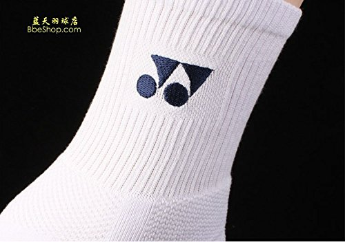 YONEX Calcetines - -quality accesorios de bádminton - de grosor Base- UK Stock, blanco: Amazon.es: Deportes y aire libre
