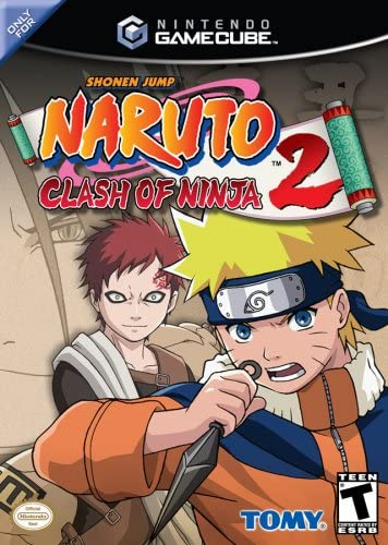 Naruto Clash of Ninja 2 - Gamecube Artist Not Provided D3 Publisher 70202 Action / Adventure Games