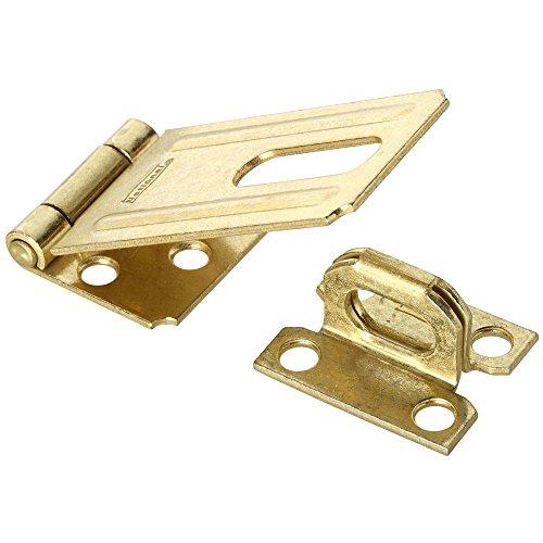 (National Hardware N102-293 V30 Safety Hasp in Brass)