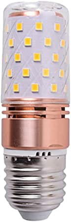 LEDMOMO COB Bulb 4Pcs 16W Incandescent Bulb E27 Screw Bulbs 450LM Non-Dimmable Light Bulb Chandelier Bulbs - Warm White