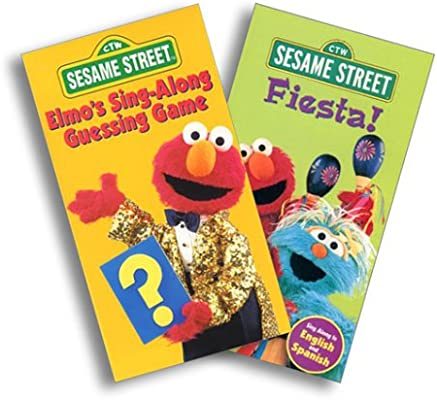 Amazon com: Sesame Street - Elmo Sing Along Guessing Game/Fiesta