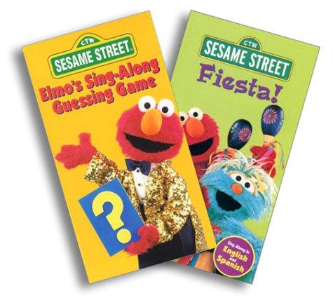 Sesame Street - Elmo Sing Along Guessing Game/Fiesta [VHS] ()