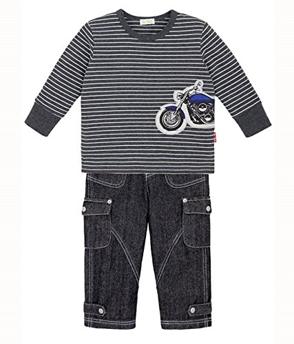 le top Boy's Graphite Vroom Motorcycle Shirt and Jeans Set (6)
