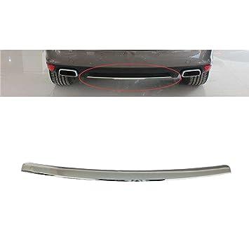 vakabva 95550578710 placa de bumper-finish trasera para Porsche Cayenne 2008 – 2010