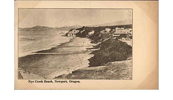 vintage elk creek beach oregon coast postcard