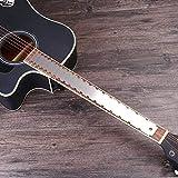 FidgetFidget Premium Guitar Neck Notched Measuring Tool Fret Board Fingerboard Straight Edge