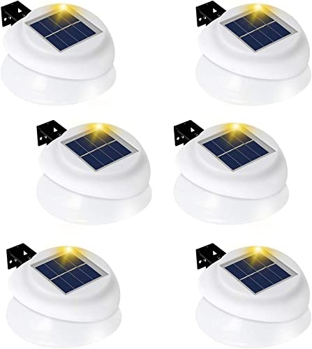 Owalle Solar Powered Gutter Lights Outdoor