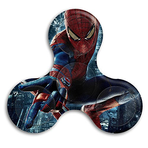Ymuop Fidget Spinner Toys   Spider Logo Anti Anxiety Bearingtriangle Hand Spinner Interscrew Finger Decompression