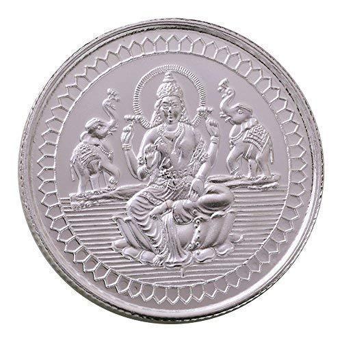 Bangalore Refinery 999 Purity Silver Coin Lakshmi 10 Gram