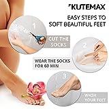 1 pair Foot Peel Mask KUTEMAX