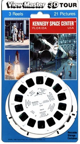 View-Master 3D 3-Reel Card Kennedy Space Center Florida