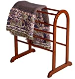 Dylan Quilt Rack Elegant Arched Design