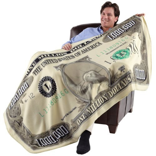 (Milion Dolar Fleece Throw Blanket (71