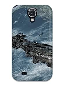 For Case Samsung Galaxy Note 2 N7100 Cover Fashion Design Spaceship Sci Fi Case-SaEnZEo4494eDrbc
