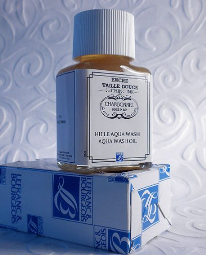 Charbonnel Aqua Wash Etching Ink Medium - Wash Oil 75ml Jar by Charbonnel