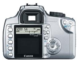 Canon Digital Rebel XT DSLR Camera with EF-S 18-55mm f/3.5-5.6 Lens (Silver-OLD MODEL)