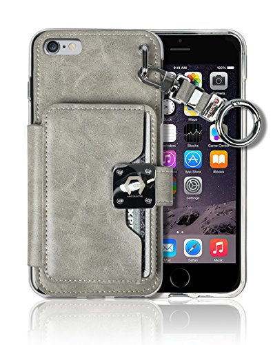 iPhone6 screen Crocodile Leather Magnetic product image