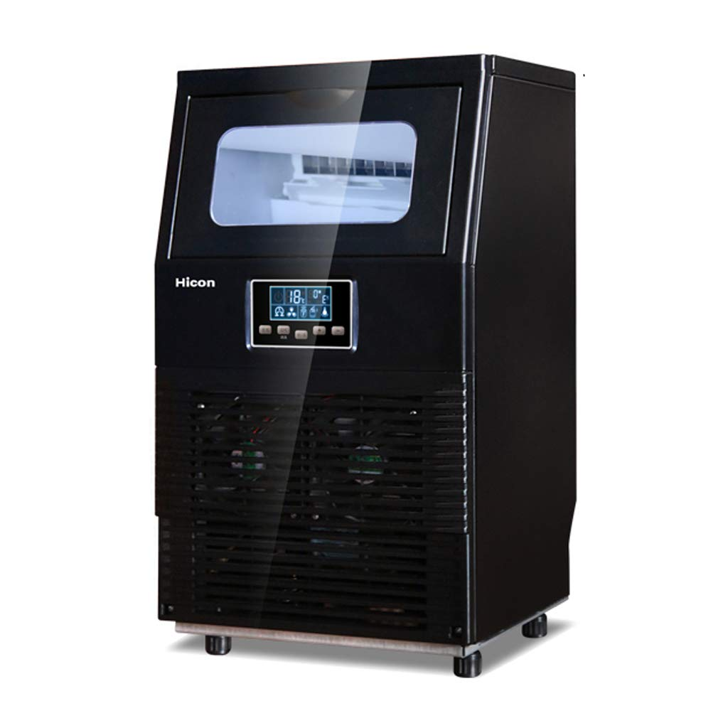 WHJ@ Ice Machine Commercial Household Tea Shop 40kg Automatic Small Large Rapid Production Square Ice Machine by WHJ-Ice maker