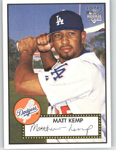 2006 Topps 52 (1952 Edition) #108 Matt Kemp (RC) - Los Angeles Dodgers (RC - Rookie Card) (Baseball (108 Matt)