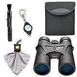 Nikon Prostaff 3S 8x42 Binoculars (16030) Bundle with Nikon Micro Fiber Cloth, Lens