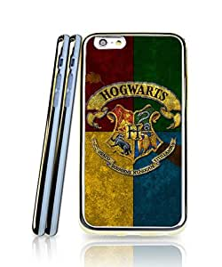 Film Harry Potter Hogwarts Crest Logo Funda Case For Iphone 6s, Drop Resistant Two in One Soft Gel Funny Pattern Back Funda Case For Iphone 6 / 6s (4.7 inch)