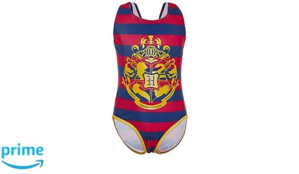 Harry Potter Bañador para Niña y Adolescente con Diseño Hogwarts ...