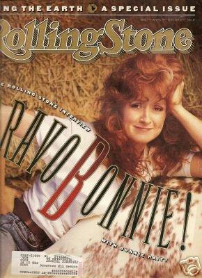 BONNIE RAITT----ROLLING STONE MAGAZINE # 577---MAY 3RD, 1990