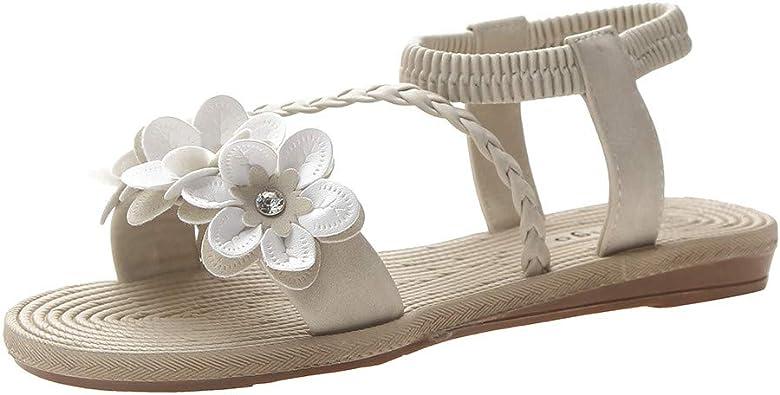 Sandales Femme et Fille, Chaussures Ete Shoes Plage Tongs