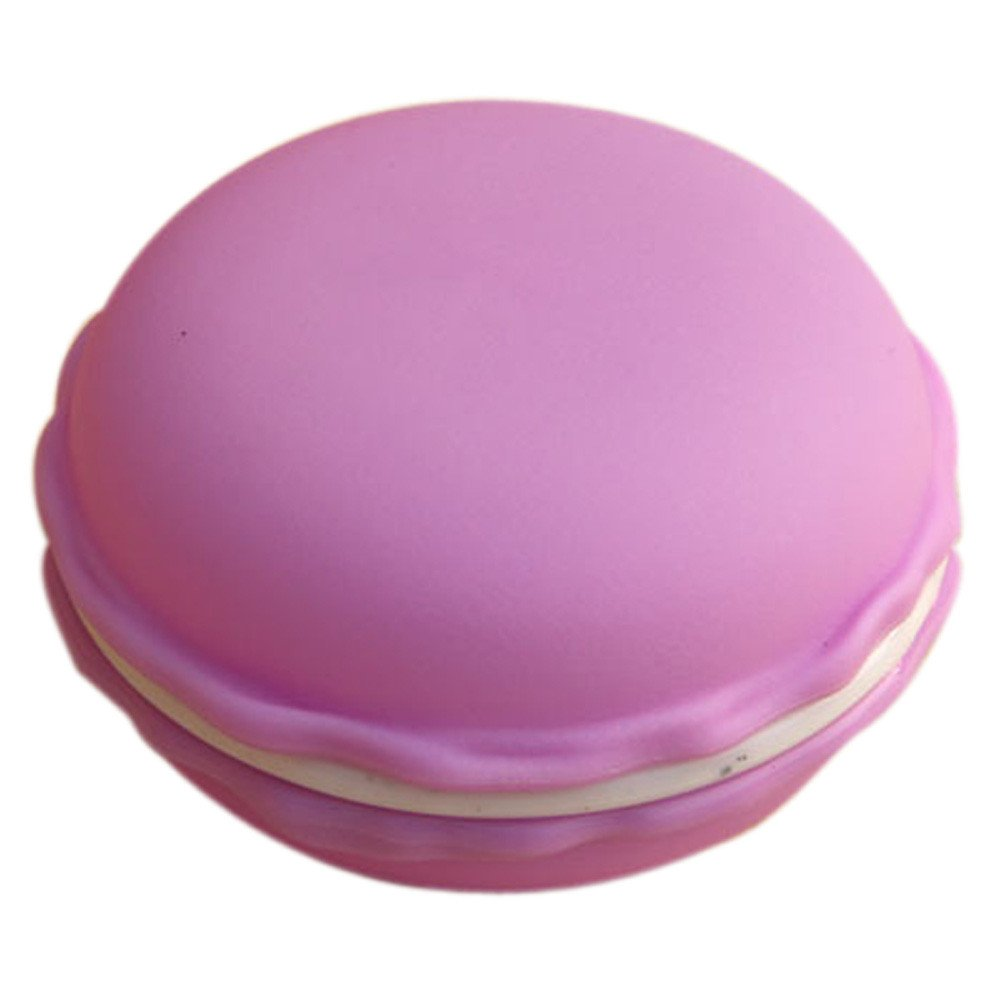 Earphone Sd Card Macarons Bag Big Storage Box Case Carrying Pouch by Charberry (Purple)