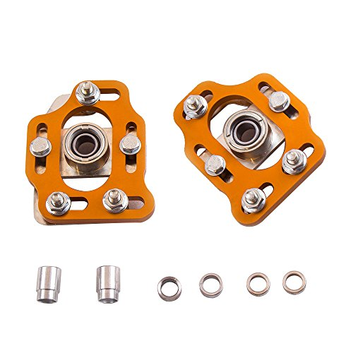 - Camber Caster Plates for Ford Mustang 1979-1989 Coilover Suspension Strut Top Mount