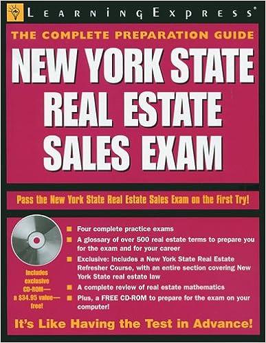 Amazon com: New York State Real Estate Sales Exam