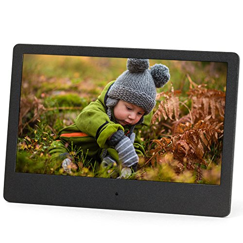 Micca NEO 7-Inch Digital Photo Frame with High Resolution Widescreen LCD, MP3 Music and 720P HD Video Playback, Auto On/Off Timer, Ultra Slim Design (M709A) from Micca