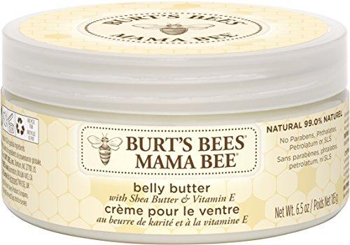 Burt's Bees Mama Bee parfümfreie Körperbutter, für den Bauch, 185 g Tiegel