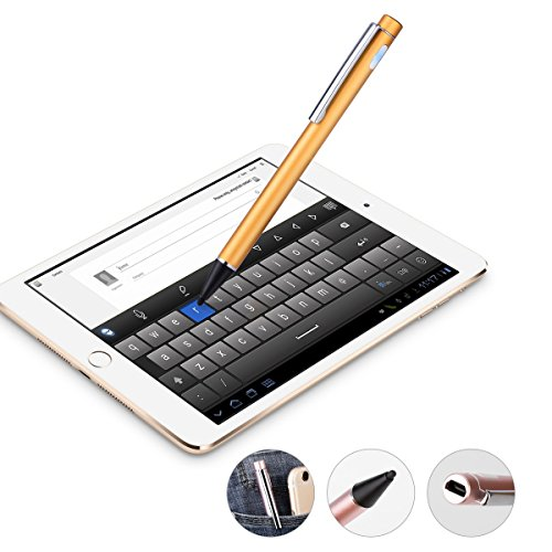 active-stylus-aluminum-pen-most-capacitive-touch-stylus-fine-point-of-20mm-golden-for-surfaces-smart