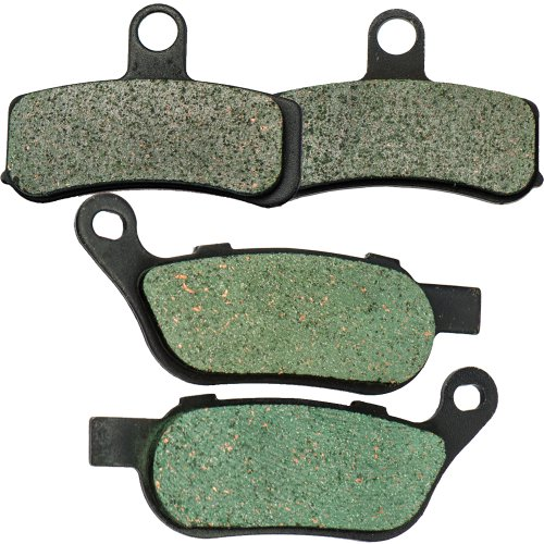 r Carbon Brake Pads for Harley Davidson FLSTC Heritage Softail Classic 2008-2014 (Heritage Pad)