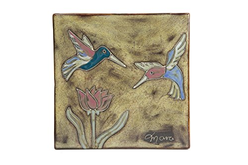 - Mara Stoneware 8 in. Hummer Hummingbird Trivet