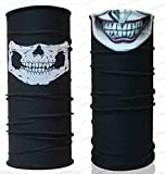 Joker & Call of Duty Skull UV Protection Fishing Usa Mask Scarf Bandana Headband Headwear 007071 Biker Bb Gun Angler Extreme Motocross